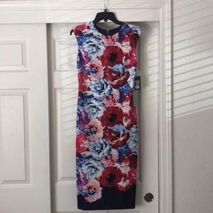 Vince Camino Floral Sheath Dress NWT